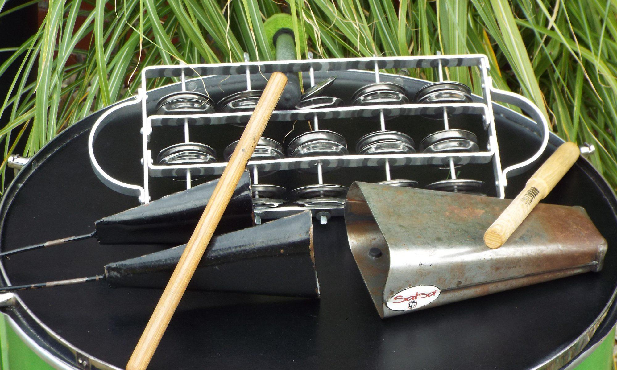 Agogo Shaker Cowbell Samba