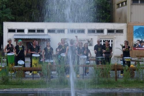 Filmtierpark Eschede Dschungelnacht Fontäne Samba Beija Flor 2021