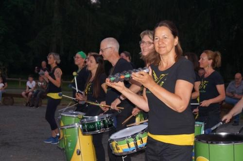 Filmtierpark Eschede Dschungelnacht Lagerfeuer Samba Beija Flor 2021